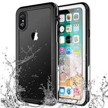 New For iPhone X Waterproof Case Shock Dirt Snow Proof Protection With Touch  ID For iPhone X Case Cover IP68 Waterproof for iphone xs max ip68 waterproof case water shock dirt snow proof protection for iphone xs with touch id case cover