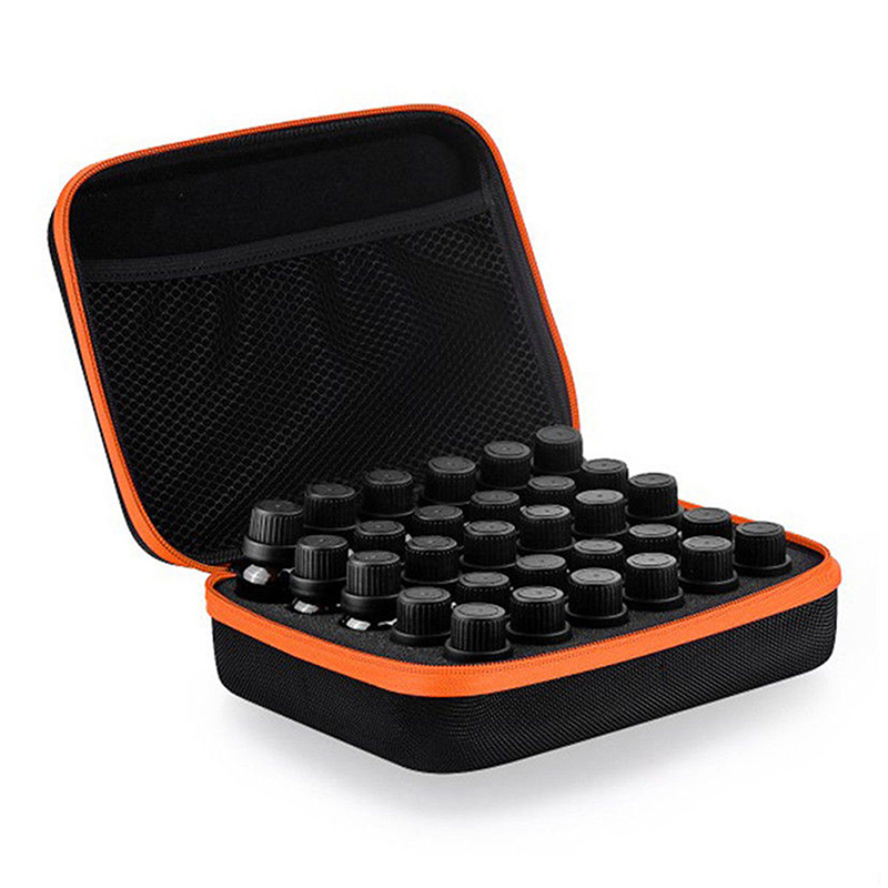 30 Bottles 5~15Ml Essential Oil Carry Case Holder Storage Perfume Aromatherapy Nail Polish Box Holder Hand Bag Hot