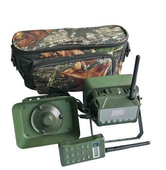 PDDHKK 60W 160dB Loud Speaker With Timer ON or OFF Electric Remote Control Metal Shelf Bird Caller MP3 Waterproof Hunting Decoy