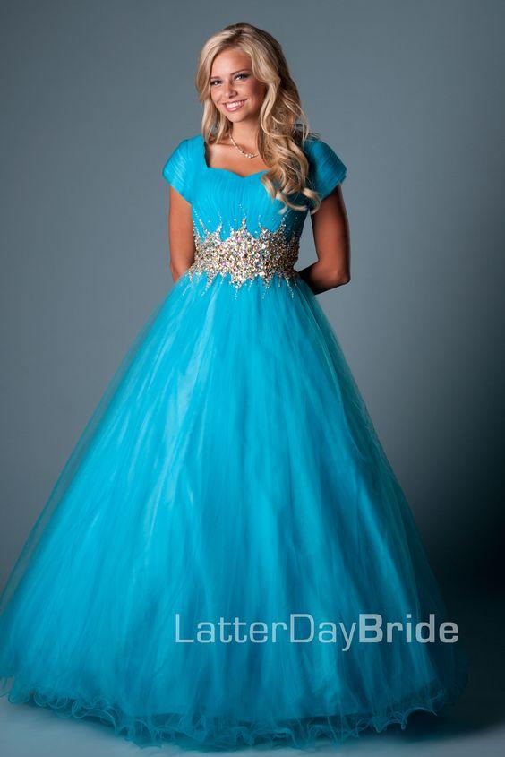 Online Get Cheap Modest Blue Prom Dresses -Aliexpress.com ...