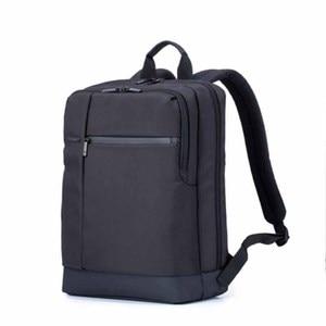 Image 4 - 100% Оригинальные Классические деловые рюкзаки Xiaomi, вместительная Студенческая сумка, дорожная школьная сумка для ноутбука Macbook air 12,5 13,3