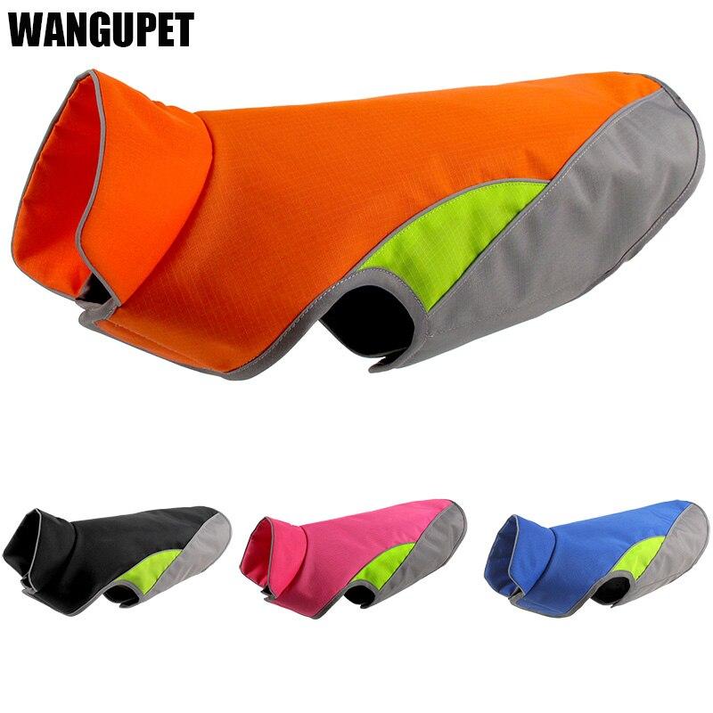 Large dog reflective Vest Waterproof pet apparel Life jacket Outdoor dog safety
