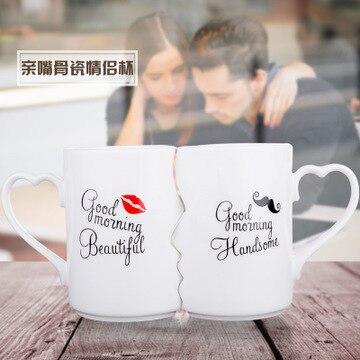 Tasse duo kissing mug, un beau cadeau d'amour 5