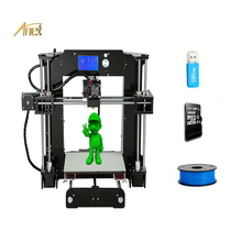 Best Selling Anet 3D Printer A8/A6 DIY 3D Printer Kit High Precision and High Speed Large Printing Size 220*220*250MM with Tools недорого