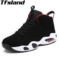 Boys Cushioning Basketball Shoes High Popular Air Sole Comfortable Sneakers Basquete Jordan Retro Men Women Outdoor Sport Boots