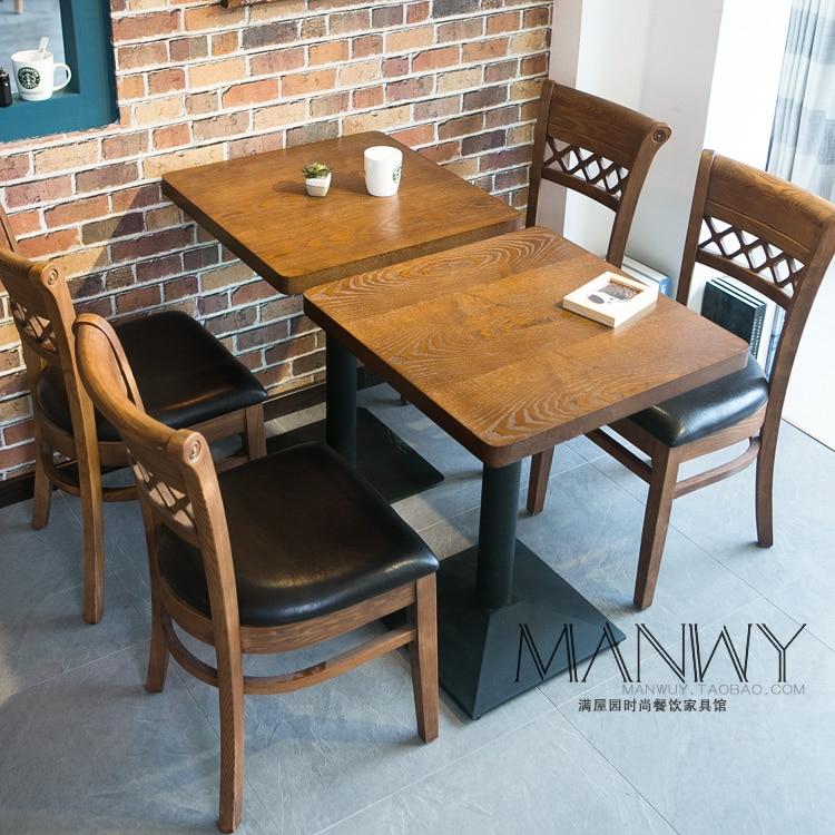 Ash wood chair korean retro minimalist modern leisure for Como hacer un bar de madera