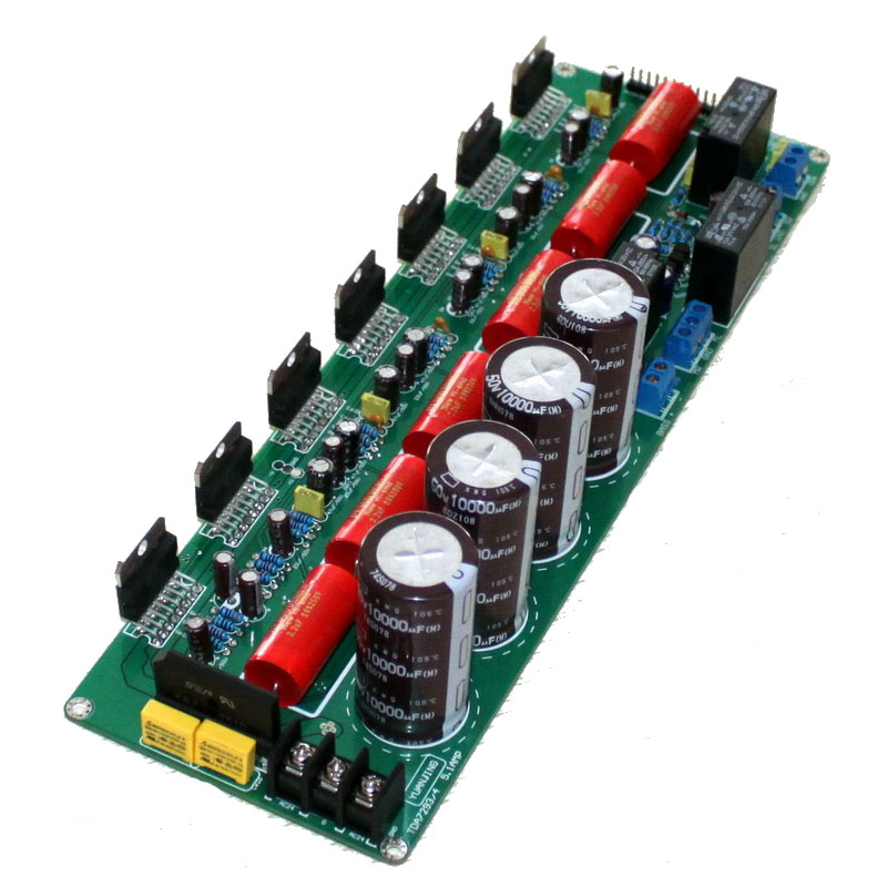 TDA7294 5.1 channel pure final stage power amplifier board speaker protection circuit power amplifier board потребительская электроника oem mono power amplifier 2 tda7294 80w mono power amplifier tda7294