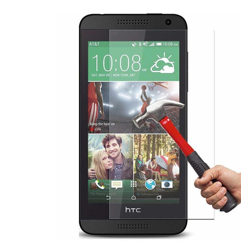 Premium Anti-quebrar Vidro Temperado Para HTC Desire 830 320 326 510 526 610 616 620 626 700 816 628 825 filme Protetor de Tela LCD
