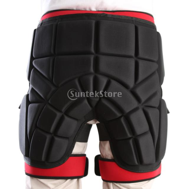 6b1e9d695019 Защитное снаряжение Хип мягкие шорты катание на коньках сноуборд Защита M