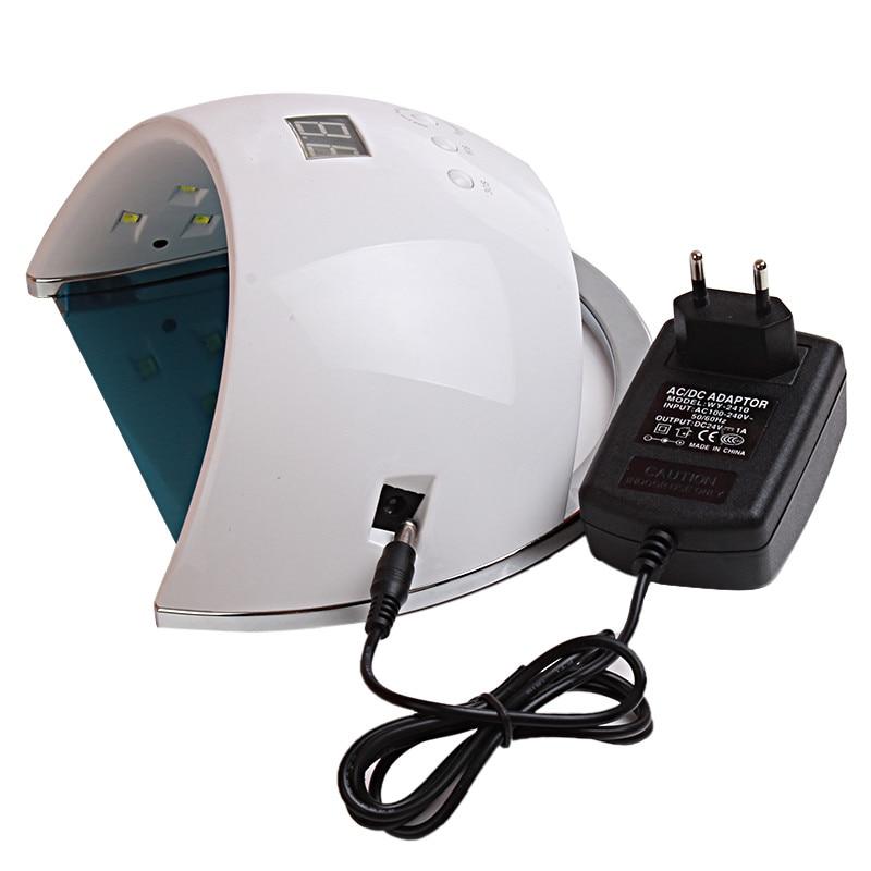 Lámpara para uñas 48W SUN6 UV LED Lámpara portátil de alta - Arte de uñas
