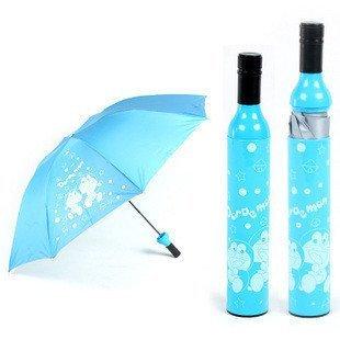 Free Shipping wiht EMS 20pcs/lot Dingdang cat wine botte  umbrella,Bottle umbrella,wine umbrella,gift