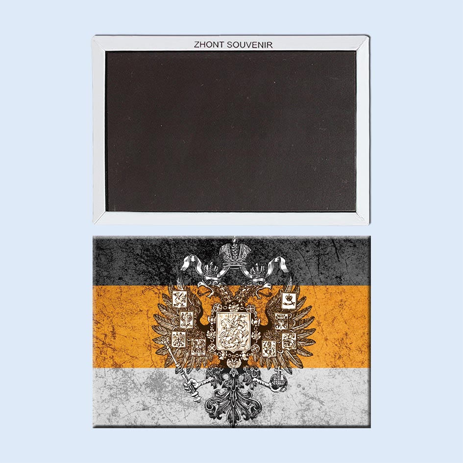 Retro Russia_Imperial_flag Fridge Magnets Souvenir Collection 21815