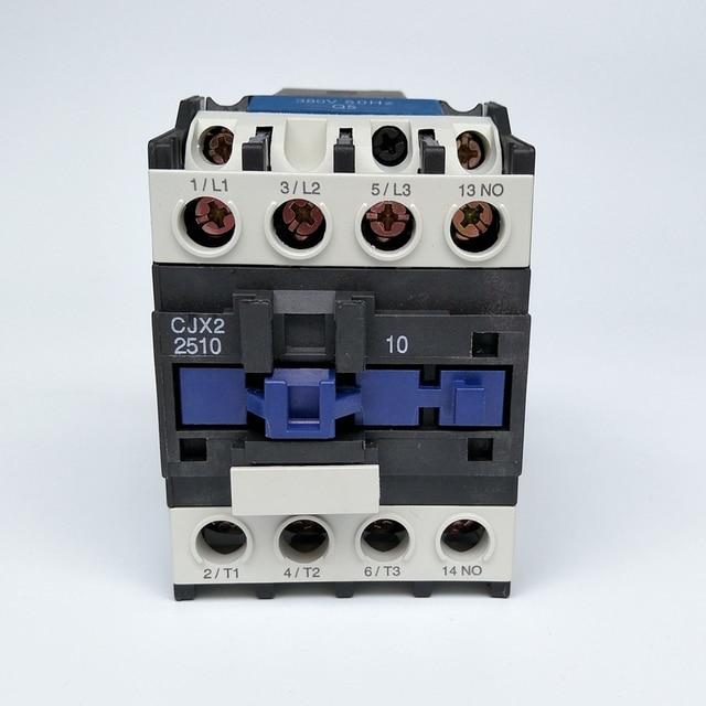 original chint cjx2 2510 ac contactor 1no 25a coil voltage 380v 220v