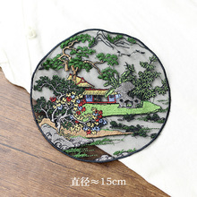 1pc landscape embroidered Patches for Clothing sew on tree Embroidery parches for backpack Clothing Applique Decoration Badge 1pc landscape embroidered patches for clothing sew on tree embroidery parches for backpack clothing applique decoration badge