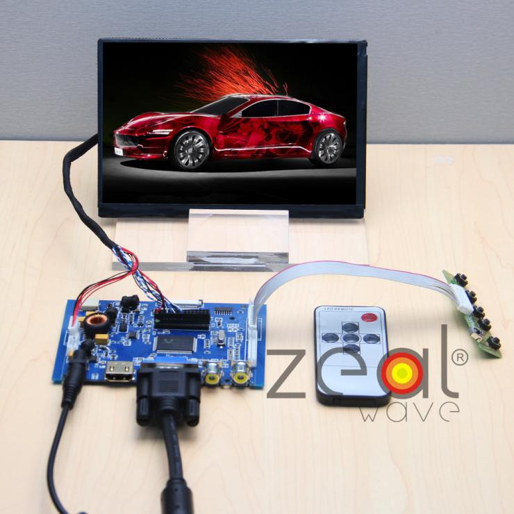 (HDMI+VGA+2AV+AUDIO) Controller Board+N070ICG LD1 LD3 LD4 L21 7