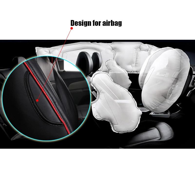 Nahast auto istmekate Toyota RAV4 PRADO Highlander COROLLA jaoks - Auto salongi tarvikud - Foto 6
