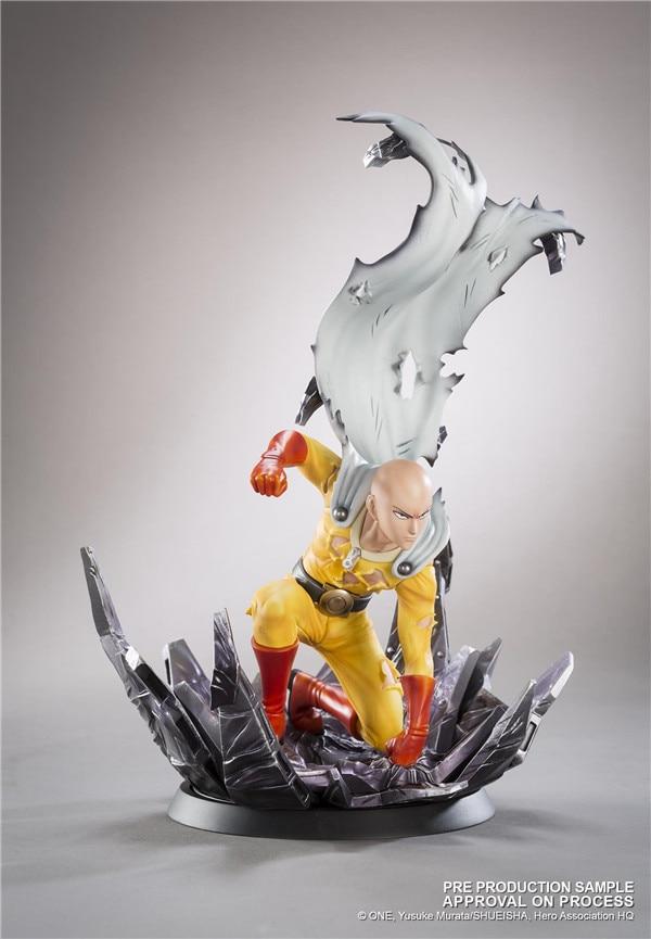 ФОТО Anime ONE PUNCH MAN Saitama Resin Figure Collectible Model Toy 24.5cm