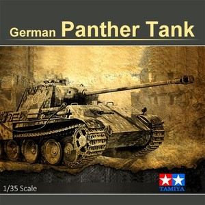 1:35 Scale Tank Assembly Model German Panther A Tank Model Building Kit Military Tank Collection DIY 35065(China)