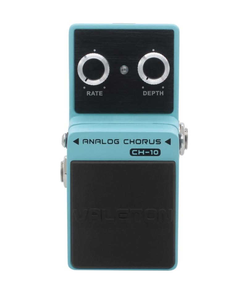 Valeton Analog Chorus Guitar Pedal Effect Warm Natural Tone Rich Harmonics Signal Path CH-10 focal chorus 714 rosewood