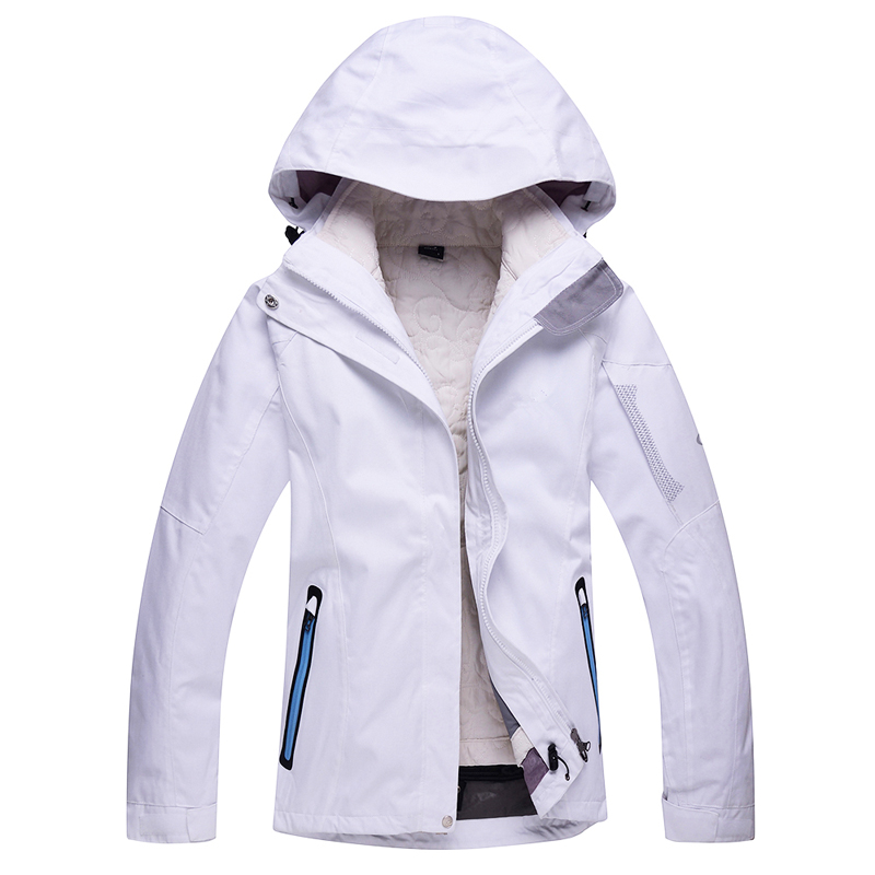 Womens Snowboarding Coats Winter Snowboard Jacket 's Woman Ski Wear Double Board Piece Suit Female Thick Waterproof Breathable