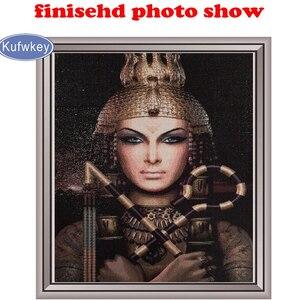 Image 5 - פסיפס תמונה יהלומי רקמת המוסלמי קליגרפיה בניין מלא כיכר עגול יהלומי ציור צלב תפר הודי דתות