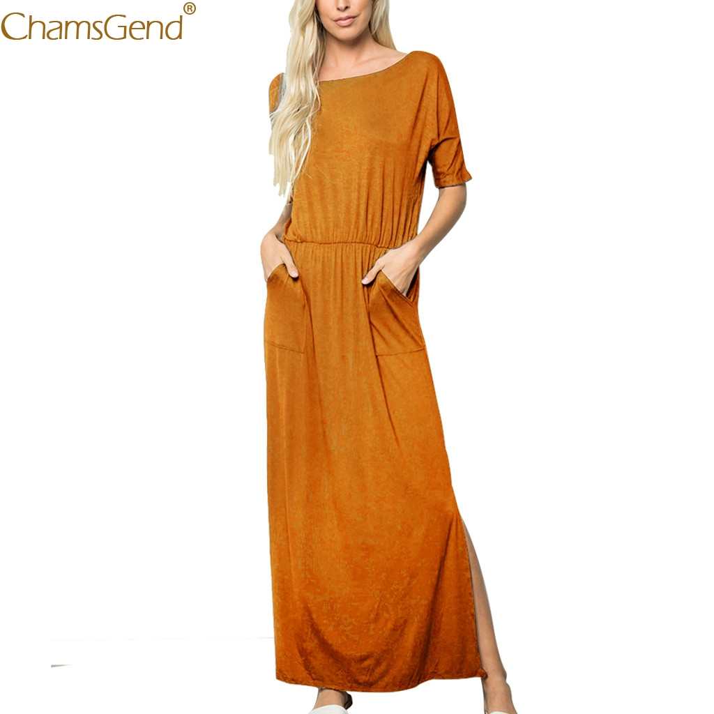 Summer Dress 2019 wedding dress beach summer dresses casual dresses woman party night plus size Boho Style Half Sleeve Mar9