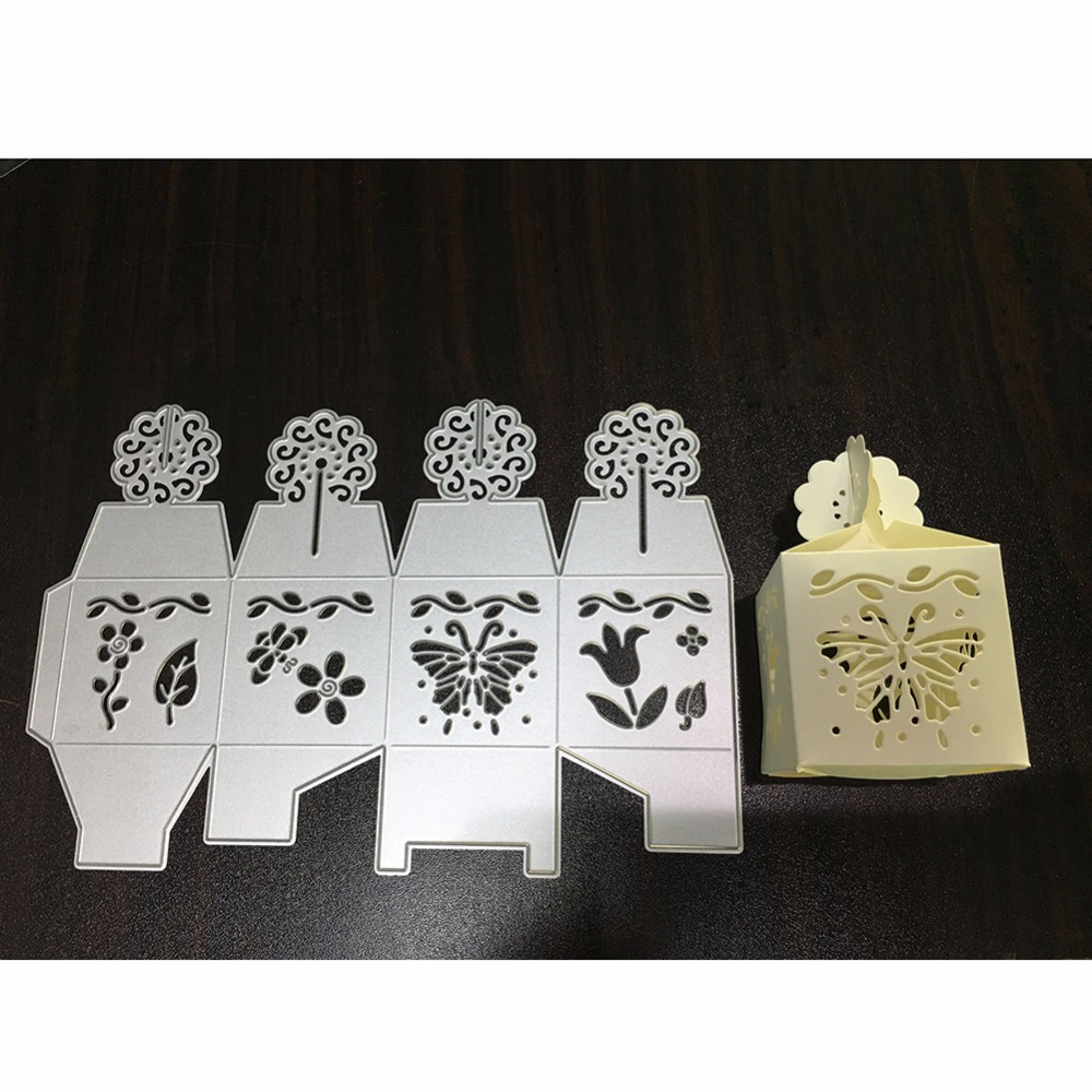 216*147mm Candy/Gift Box Frame Metal Cutting Die Scrapbooking Embossing Stencil Card Die For DIY Invitation Album Book Decoratio