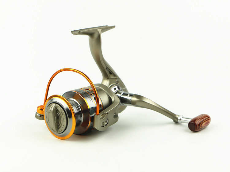 NEW HOT SALES LC7000 FOR BIG FISH Ocean inshore Fresh saltwater ICE FLY CARP spinning reel 12 Ball Bearing wood KNOB strengthen
