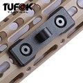 Adaptateur de fixation pour Bipod TuFok Keymod adaptateur de garde-main adaptateur pivotant pour accessoires de fusil à goujon Bipod Style Harris