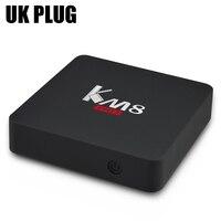 KM8 Pro Smart TV Box Amlogic S912 Octa Core 2GB 16GB Bluetooth 4 0 2 4G