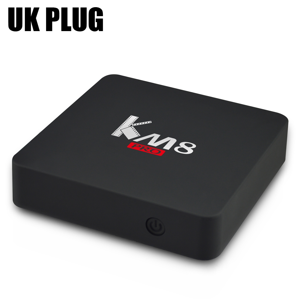 KM8 Pro Smart TV Box Amlogic S912 Octa Core Max 2GB 16GB Bluetooth 4.0 2.4G5G WIFI Dual Band WiFi Media Player Set Top Boxes