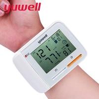 Yuwell 2017 High Quality Sphygmomanometer Digital LCD Wrist Blood Pressure Monitor Health Care Medical Equipment Tonometer