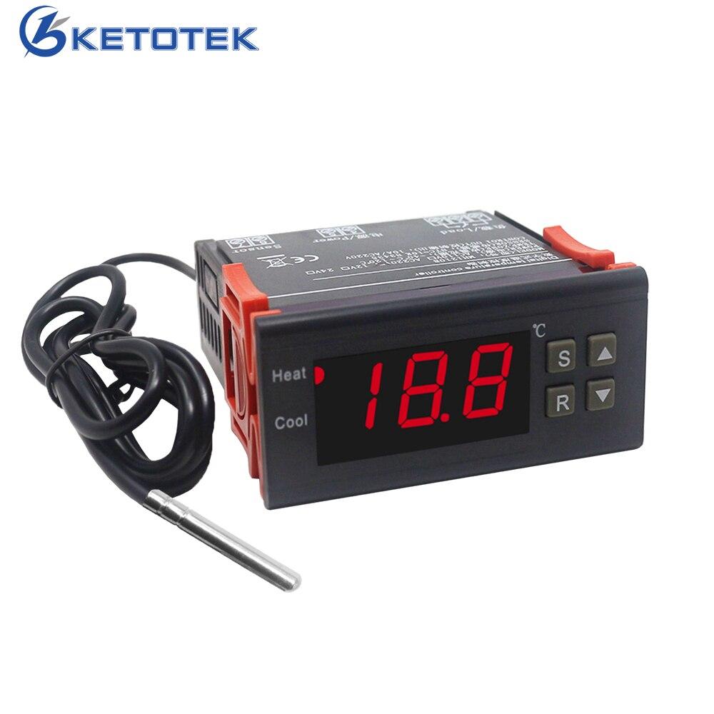 220 V 10A/30A Ei Thermostat Inkubator Landwirtschaft Hohe Genauigkeit Thermostat Regler Temperatur Controller
