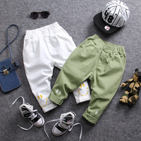 Only Pant 1pc New 2018 Spring Cartoon Fashion Casual Boys Pants Kids Handsome Pants Boys Cargo