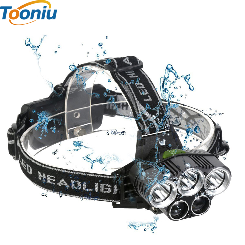 5 CREE led headlamp XM-L T6 Q5 headlight 15000 lumens led head lamp camp hike emergency light fishing outdoor equipment high power 5 cree led headlamp xm l t6 q5 headlight 15000 lumens head lamp camp hike frontale flashlight fishing hunting lights