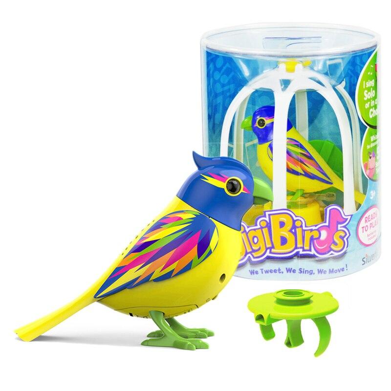 Ehrlich Silverlit Digi Vögel Elektronische Musik Singen Solo Oder Chor Interaktive Kinder Geschenk Spielzeug Mit Käfig Neue Rheuma Lindern