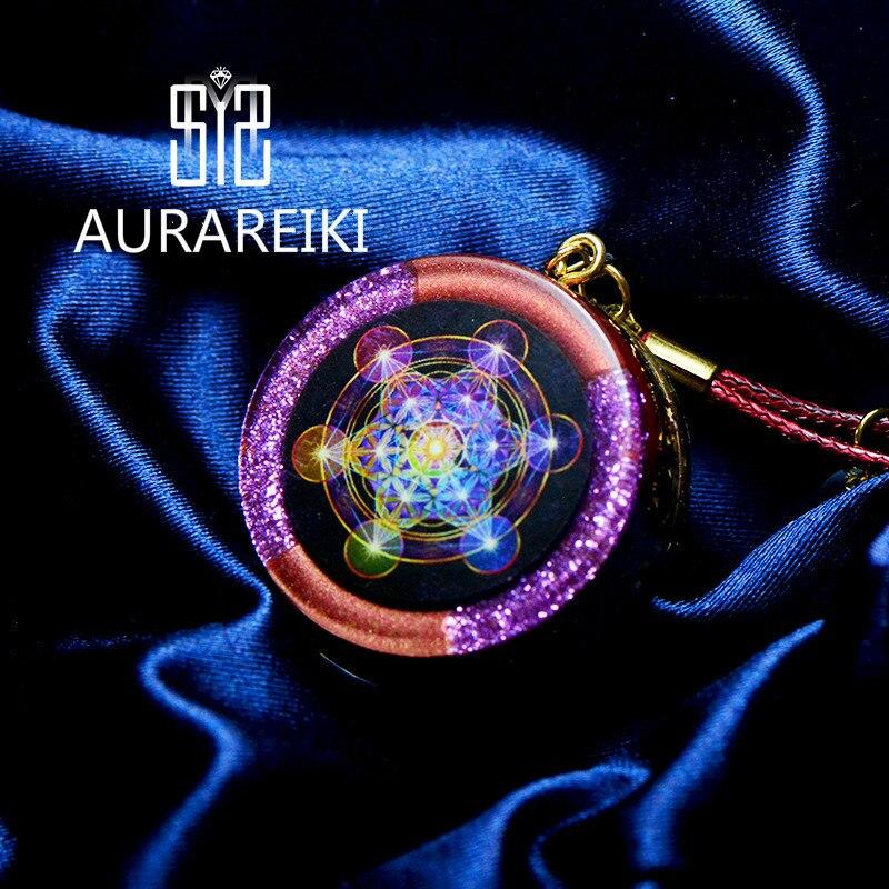 Pendentif énergétique Elite Orgonite générateur d'énergie spécial Mehta collier ange cristal esprit Emf Protection pour la guérison des chakras