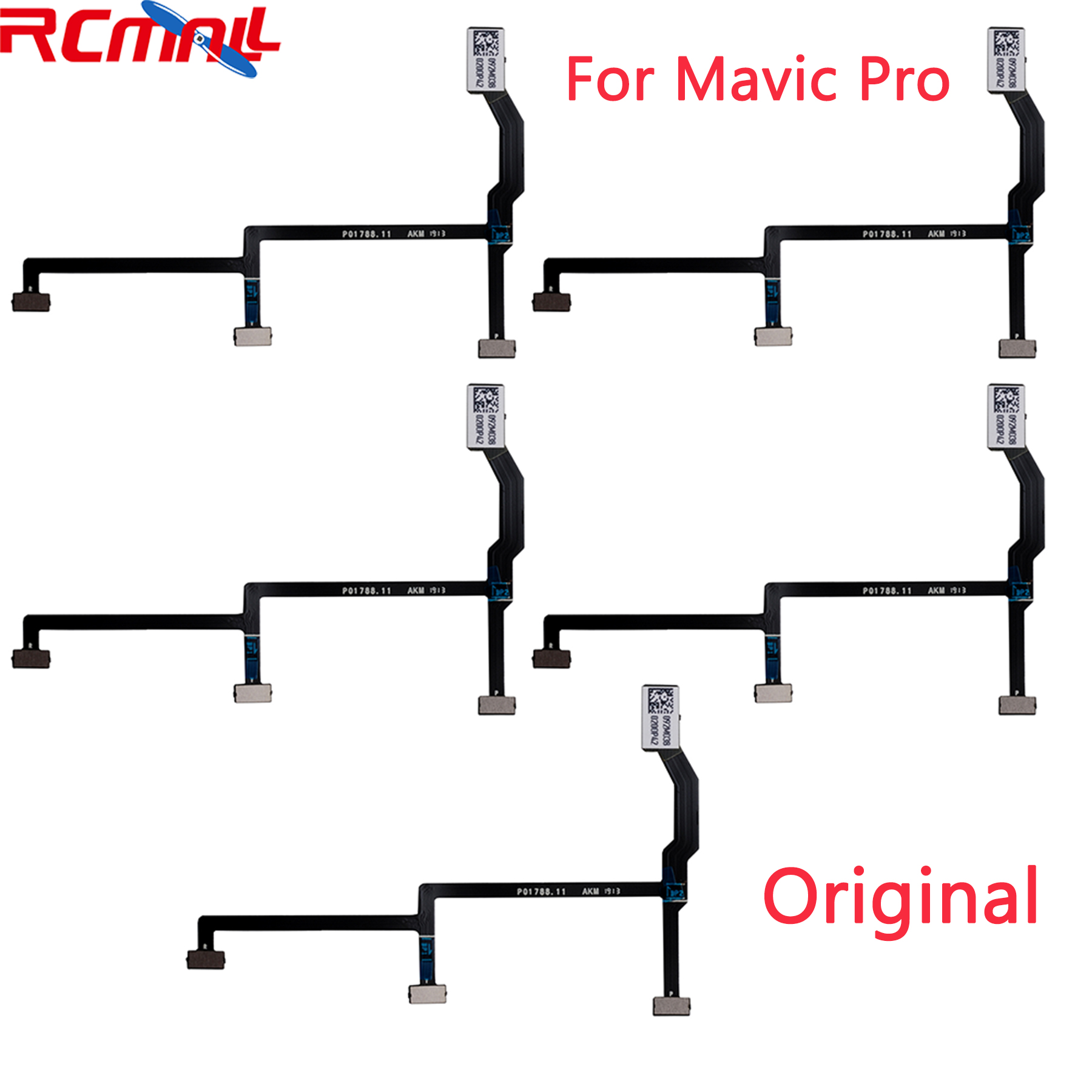 5pcs Original For DJI Mavic Pro Gimbal Flex Cable Flexible Flat Layer Drone Original Repair Parts