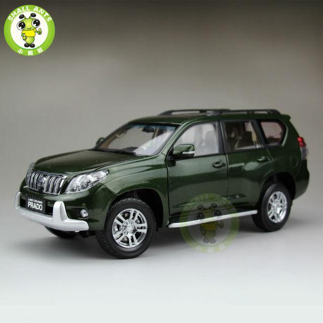 5d35f206e57c 1:18 весы Toyota Land Cruiser Prado литья под давлением модель автомобиля  SUV игрушечные лошадки
