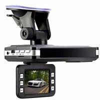 (ロシアの声)多機能車dvrカメラレーダー検出器2.0インチ液晶140度hd 1280*720内蔵のgpsロガーダッシュカ