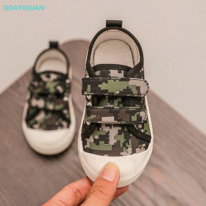Children Canvas Shoes 2018 New Autumn Toddler Printed Girl Sneakers for Kids Sports Shoe ...