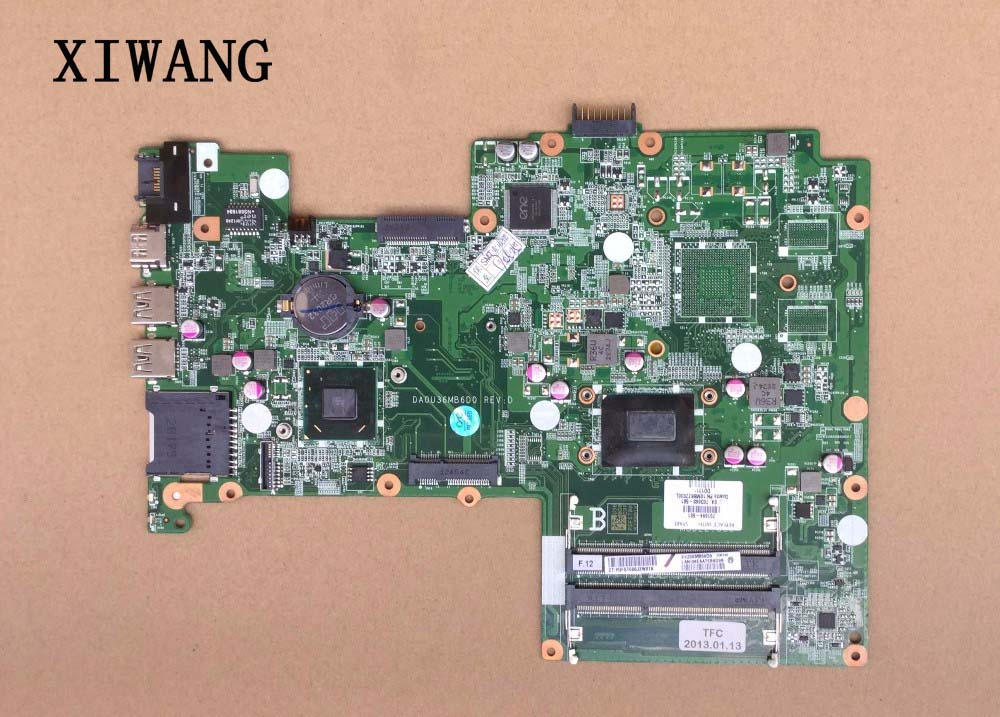 701694-501 Free Shipping for hp Sleekbook 15 15-B 701694-001 laptop Motherboard i5-3317U cpu integrated graphics card