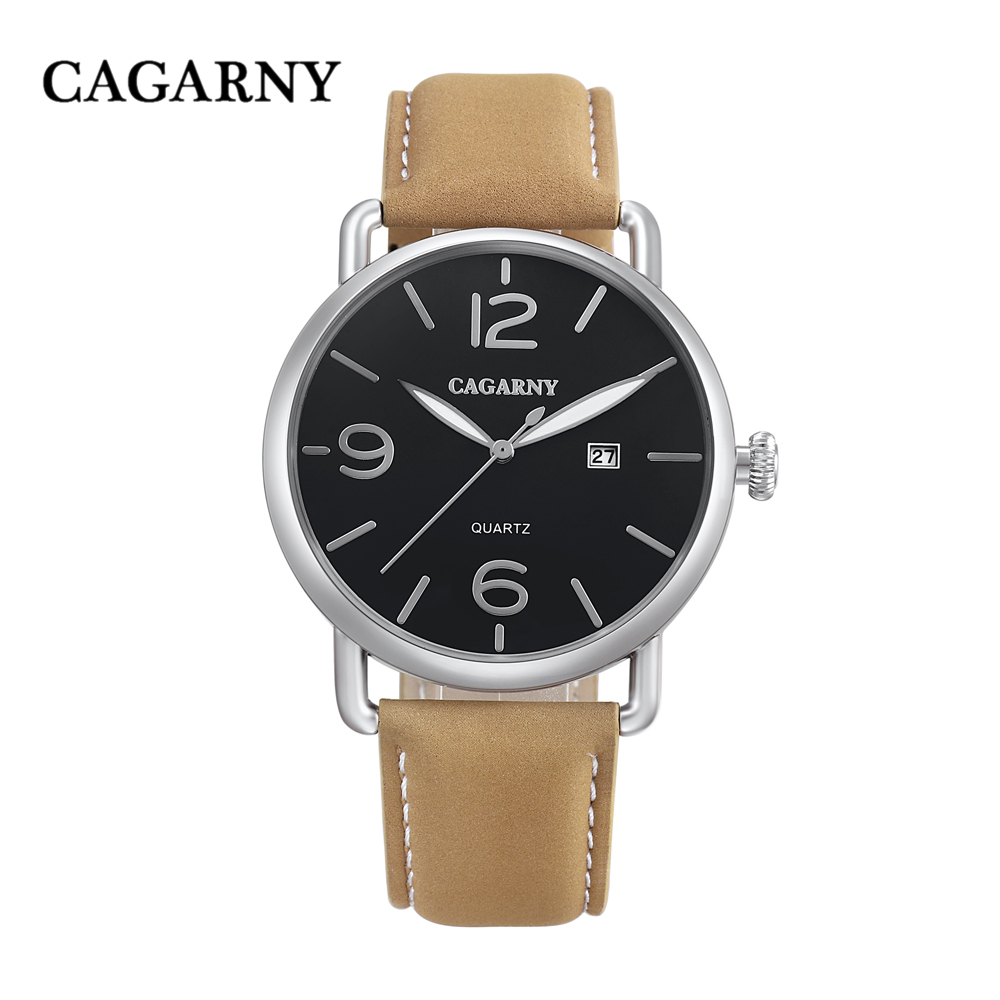 new arrival cagarny luxury brand quartz wrist watch for men watches casual clock man (12)