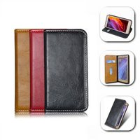 Luxury Retro Flip Leather Case For LG K8 4G LTE K350N PU Leather Cover For
