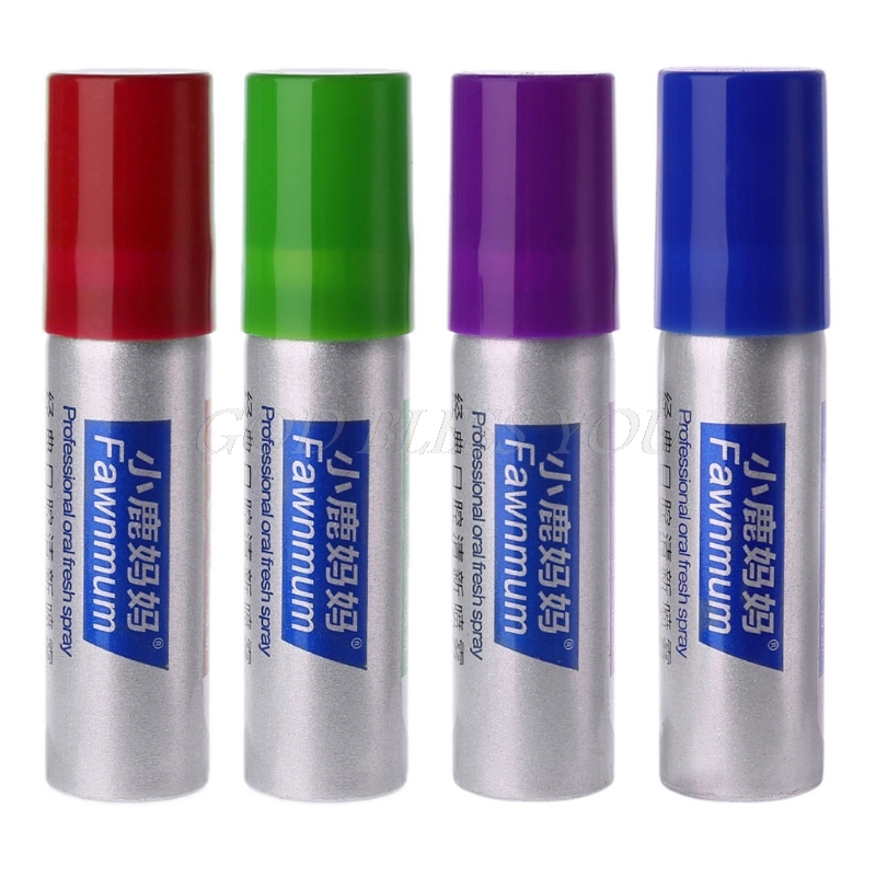 20ml Herbal Mouth Freshener Antibacterial Oral Spray Treatment Fresh Breath 4 Flavor