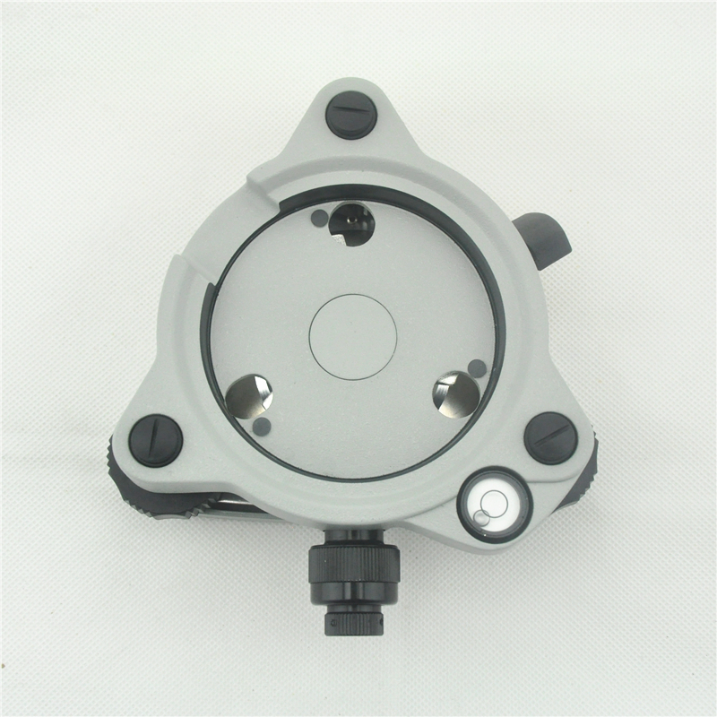 NEW Gray Replacement Tribrach with Optical Plummet for Topcon/Sokkia/Nikon/Trimble Total station /gps/prism