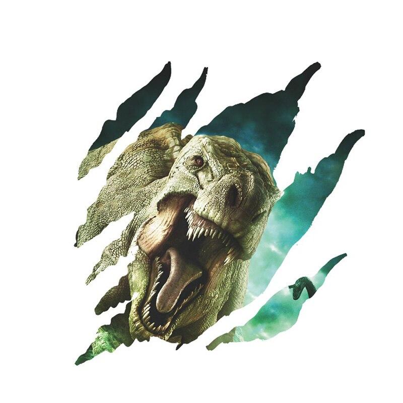 10 տիպեր 3D մուլտեր Dinosaur Vinyl Art Home Wall Sticker - Տնային դեկոր - Լուսանկար 6