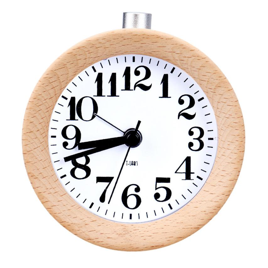 Creative Small Round Classic Wood Silent Desk Travel Alarm Clock With  Nightlight jan11 China. Popular Small Travel Alarm Clock Buy Cheap Small Travel Alarm