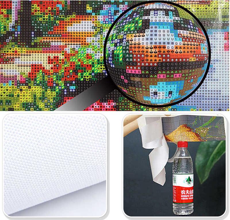 Diy 5D יהלומי ציור צלב תפר סגול פרח כיכר יהלומי פסיפס ציור יהלום רקמת Coccinella septempunctata