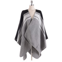 High Quality Pure Color Stripe Cashmere Scarf Women Luxury Brand Scarves Shawls And Wraps Stoles Blanket